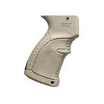 FAB Defense AGR-47 Rubberized Ergonomic AK/AKM Pistol Grip - Tan