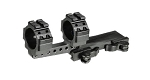 UTG Integral 30mm Offset QD Mount, 2 Top Slots, 100mm Base