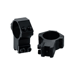 UTG 30mm/2PCs High Profile Airgun Rings w/Stop Pin
