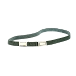 Elastic helmet Cat Eye Strip - Foliage Green