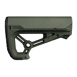 FAB Defense GL-CORE S CQB optimized combat stock - Olive Drab Green