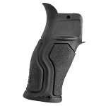 FAB Defense GRADUS Rubberized Reduced Angle Ergonomic Pistol Grip AR15 - Black