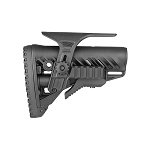 FAB Defense GLR-16 PCP M4/AR15 Tactical Buttstock With Picatinny Cheek Rest