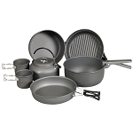 NDUR 9 Piece Cookware Mess Kit w/Kettle