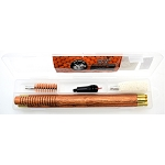 BORE TECH Walnut Shotgun Cleaning Kit 20 Gauge, 3 Piece Rod and Mop, Jag, Phosphor Bronze