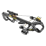 EK Archery Guillotine-X + Compound Crossbow - 185lbs - Black