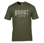 Bushcraft Leave No Trace Green T-Shirt - X Large