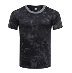 Tactical Black Quick Dry Breathable T-Shirt - XX Large