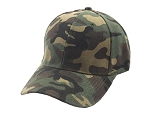 Military Pattern Camouflaged Baseball Cap