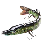 15cm 27g 9 Segment Pike Fishing Lure C