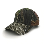 Dark Forest Camo Camouflaged Baseball Cap