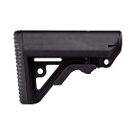 IMI Defense Operator – Enhanced Tactical Mil-Spec M16/AR15/M4 Buttstock - Black
