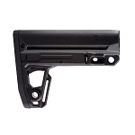 IMI Defense TS2 Mil-Spec Tactical buttstock W/Extended Overmolded Buttplate - Black