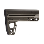 IMI Defense TS2 Mil-Spec Tactical buttstock W/Extended Overmolded Buttplate - Olive Drab Green