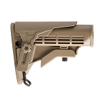 IMI Defense M4 Enhanced Mil-Spec Stock with Polymer Cheek Rest - Tan