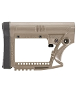 Luth-AR MBA-4F Skullaton Stock - Flat Dark Earth