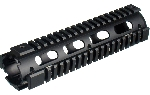 UTG PRO Model 4/AR15 Mid Length Drop-in Quad Rail, Black