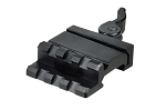 UTG Single Rail/3-Slot Angle Mount w/QD Lever Mount
