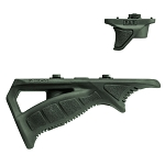 FAB Defense PTK-M Combo Rubberized M-LOK® Compatible Ergonomic Angled Grip Combo Pack (PTK-M & VTS-M) - Olive Drab Green