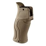 FAB Defense GRADUS Rubberized Reduced Angle Ergonomic Pistol Grip AR15 - Tan