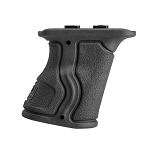 FAB Defense Rubberized M-LOK® Compatible Short Ergonomic Forward Grip - Black