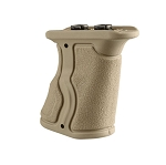 FAB Defense Rubberized M-LOK® Compatible Short Ergonomic Forward Grip - Tan