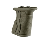 FAB Defense Rubberized M-LOK® Compatible Short Ergonomic Forward Grip - Olive Drab Green