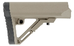 UTG PRO AR15 Ops Ready S1 Mil-spec Stock, FDE