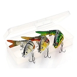 3 Piece Set 14 cm Sinking Wobble Fishing Lures RW44