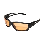 Edge Tactical Blade Runner – Soft-Touch Matte Black Frame / Tiger's Eye Vapor Shield Lenses