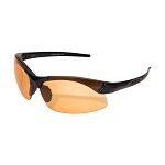 Edge Tactical Sharp Edge – Matte Black Frame / Tiger's Eye Vapor Shield Lenses