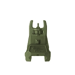 IMI Defense TFS Front Polymer Flip Up sight - Olive Drab Green