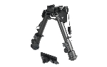 UTG Tactical OP Bipod, QD Lever Mount, Height 5.9